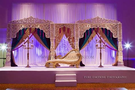 Muslim wedding stage decor !   Decorations(Stage