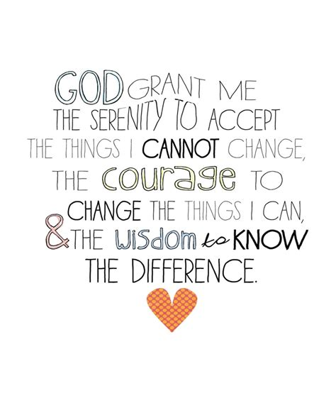 printable version of the serenity prayer serenity prayer wall art 8x10 print makes a great gift
