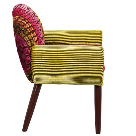 buy a french style fabric chair for bedroom living room india style fabric sofa patchwork style multicoloured