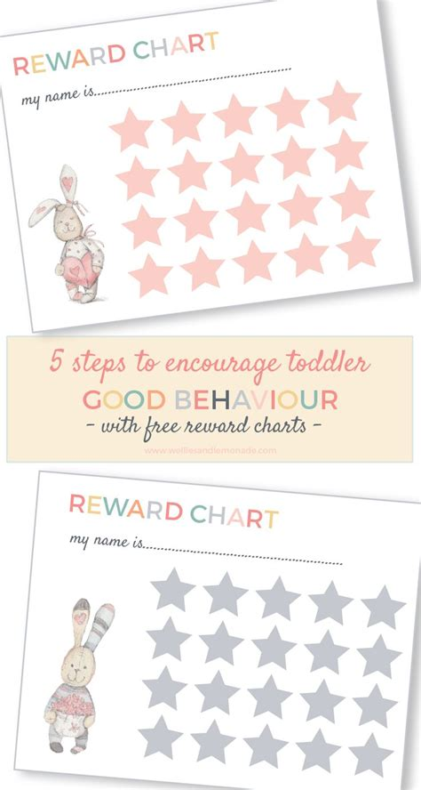 Toddler Reward Chart Printable