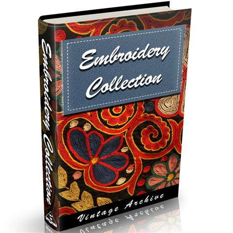 vintage embroidery pattern books embroidery books 34 old books on dvd needlework patterns