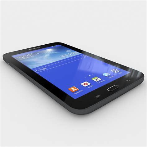Samsung Tab 3 Lite 7 samsung galaxy tab 3 lite 7 0 black 3d model max 3ds fbx