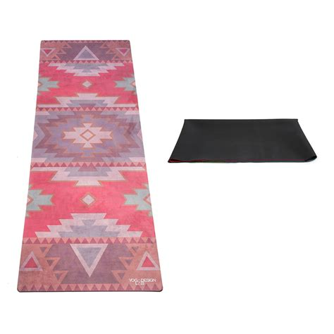 Tribal Mat by Design Lab Tribal Coral Travel Mat Hipicon