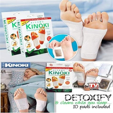 Kinoki Foot Detox Murah by Kinoki Detox Foot Patch 10 Pads Box End 8 25 2018 2 37 Pm