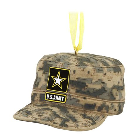army cap army christmas ornament