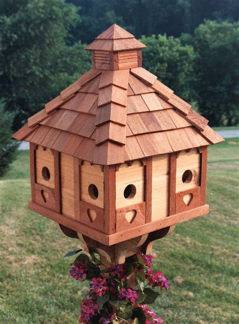bird houses amish delights crafted heirloom