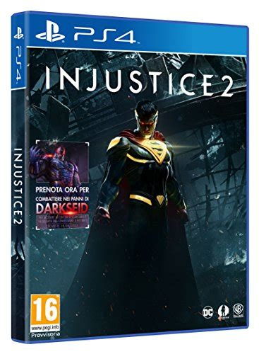 Kaset Ps4 Injustice 2 Injustice 2 Disponibile Da Oggi Su Ps4 E Xbox One Ridble