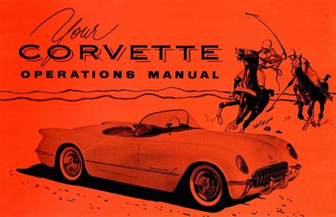 free car manuals to download 1953 chevrolet corvette free book repair manuals 1953 chevrolet corvette