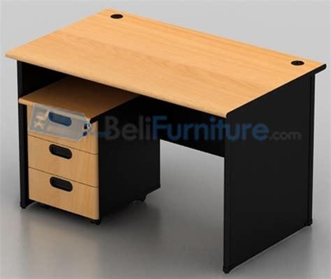 Meja Komputer Di Palembang uno classic meja kantor 160 cm murah bergaransi dan lengkap belifurniture