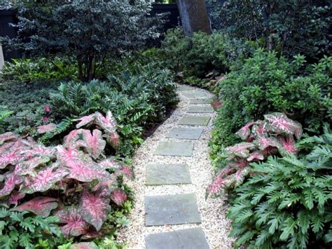 Landscape Rock New Orleans Ideas For Individual Garden Path Design A Highlight In