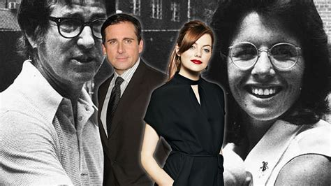 emma stone steve carell movies steve carell and emma stone in battle of the sexes amc