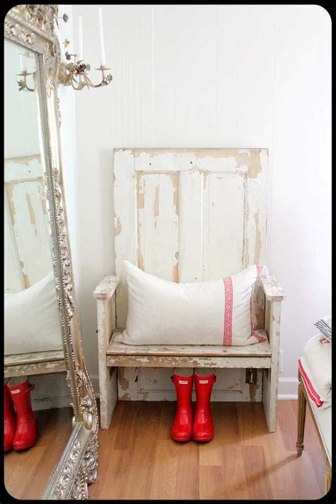creating extra seating space with repurposed wooden chest hometalk 10 creative project ideas for repurposing old doors