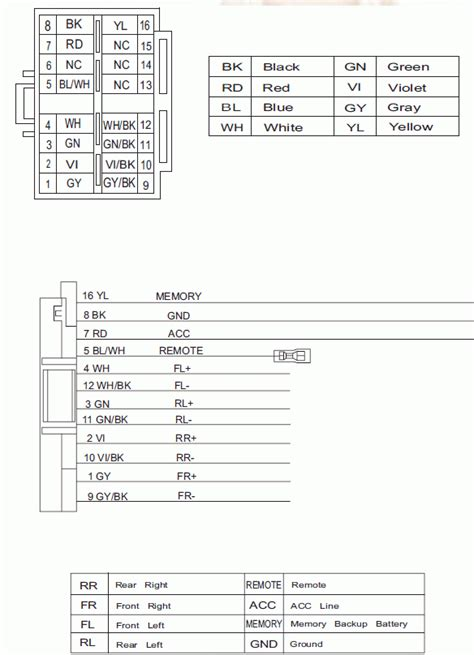jvc kd r610 wiring harness 26 wiring diagram images