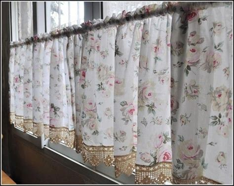 french country cafe curtains kitchen curtain designs