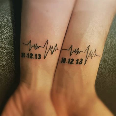 corresponding tattoos for couples 80 matching ideas for couples together forever