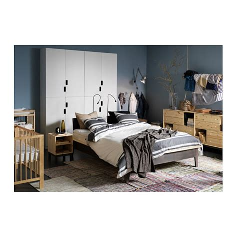 ikea nornas bed norn 196 s bed frame pine lur 246 y standard double ikea