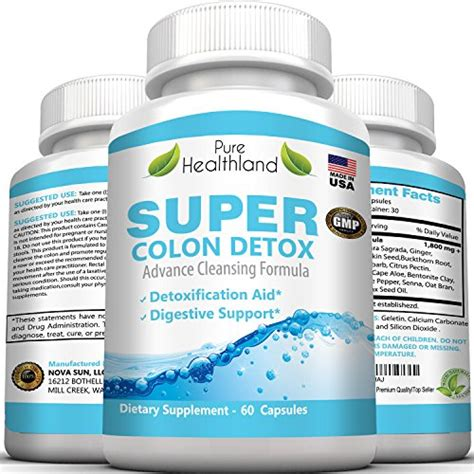 Colon Detox Healthland by Healthland Dhea Supplements Prebiotics Supplements