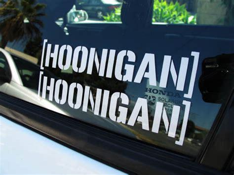 hoonigan stickers on cars cool jdm hoonigan drifting race car windows bumper decal