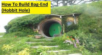 How To Build A Home How To Build A Hobbit Bag End In Minecraft