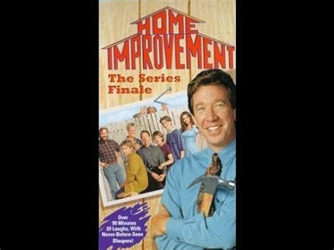 digitized closing of home improvement series finale