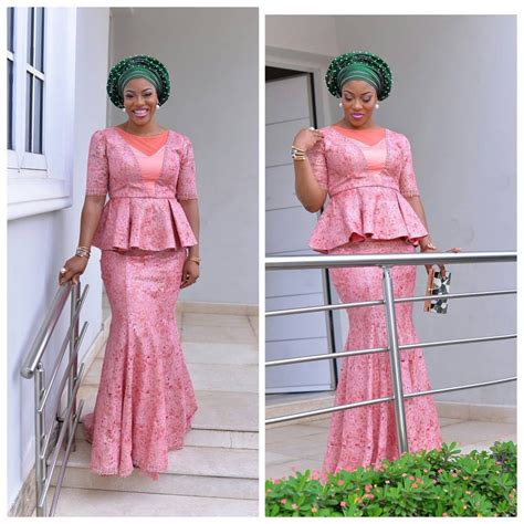 latest nigerian lace styles and designs asoebi styles 12 http maboplus com lace aso ebi styles