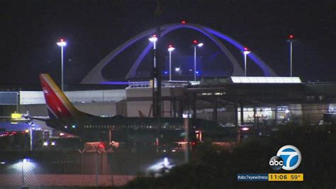 suspicious wi fi network forces plane to return to lax airplane abc7chicago com