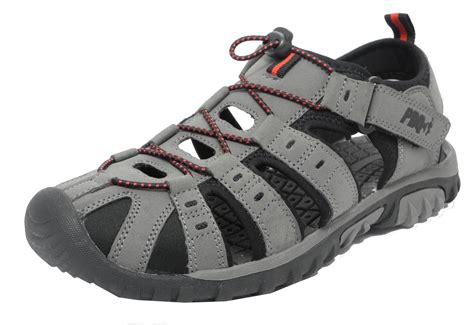 Sandals For Boys by Mens Boys Pdq Sports Hiking Closed Toe Trail Sandals Size 3 4 5 6 7 8 9 10 11 12 Ebay