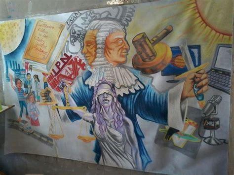 imagenes de justicia escolar mural en pellon y gis la justicia en m 233 xico tolo dibujos