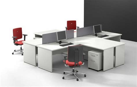 built in office table office furniture