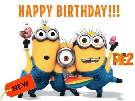 Minion Happy Birthday Wishes 50 Best Images About Birthday Greetings On Pinterest