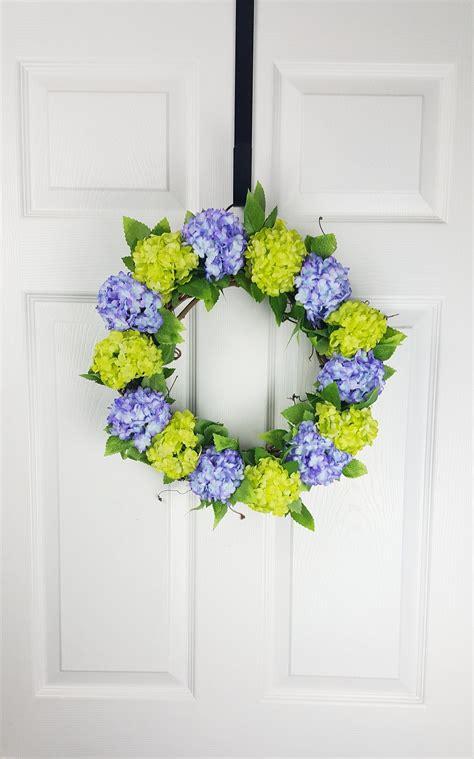 garden decor  front door everyday wreath wedding