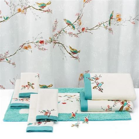 lenox chirp shower curtain lenox chirp shower curtain products showers and curtains