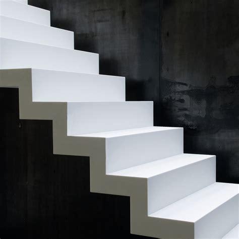 corian treppe escaliers modernes en corian anyway doors