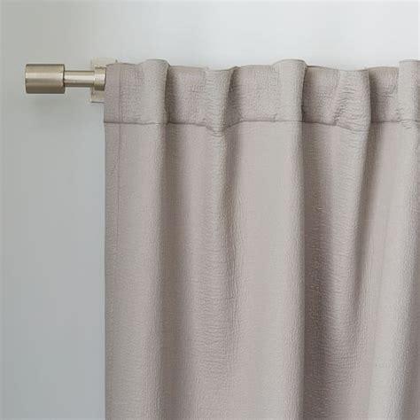 matelasse drapes brighton matelasse curtain platinum west elm