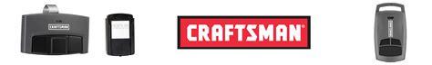 sears craftsman garage door opener remotes