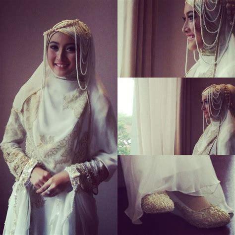 Busana Pesta Muslim Mutiara meyda sefira s wedding dress by irna mutiara
