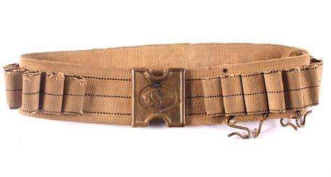 Antique Navajo Rugs Anson Mills Dog Head Cartridge Belt Indian Wars