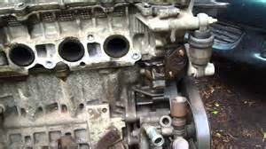 2003 Toyota Camry Leak How To Notice Leak In Timing Chain Tensioner Area