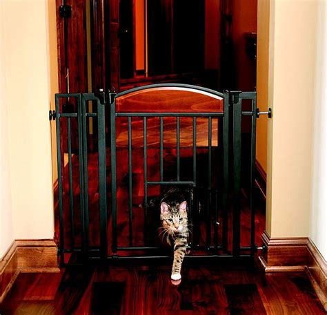 carlson pet products design studio metal walk  gate
