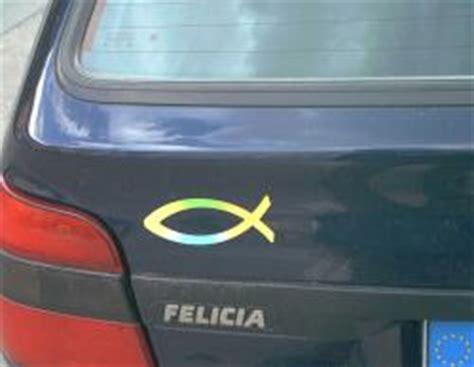 Fisch Auf Auto by Fischaufkleber Ichtys De Die Christliche Suchmaschine