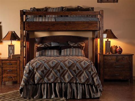queen loft beds for adults bear creek knotty alder loft bunk bed for existing queen