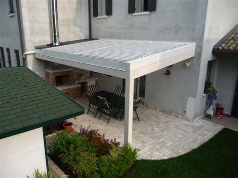 tettoia in alluminio tettoia in alluminio rigato