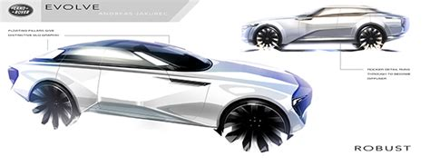 land rover sedan concept land rover range rover evolve concept on behance
