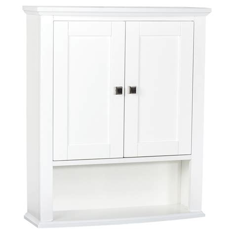 Rona Cupboards by Tallia Medicine Cabinet With 2 Doors And 1 Shelf White