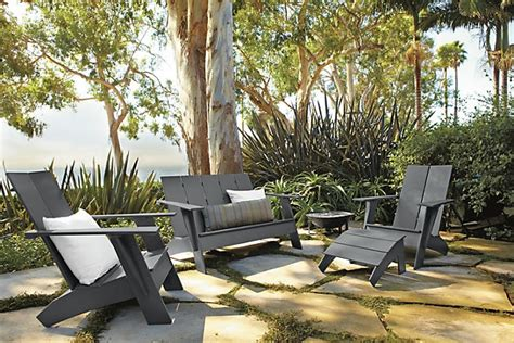 patio furniture made from recycled plastic milk jugs loll designs emmet sofa swell dwellings