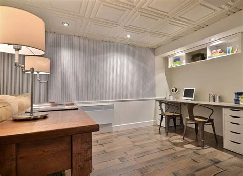 Ceiling Tile Options by Basement Ceiling Ideas 11 Stylish Options Bob Vila