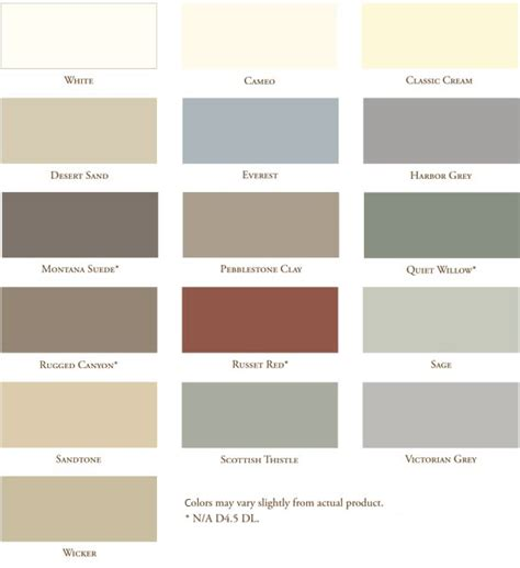 vinyl siding paint colors vinyl siding colors vinyl siding color exterior siding