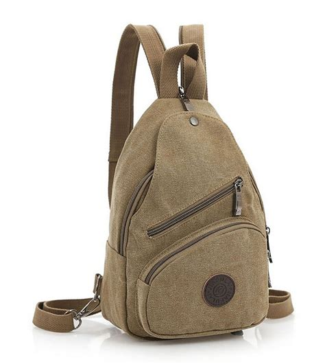 New Ambeebaby Backpack Bag etn bag new unisex small canvas backpack casual travel bag student school