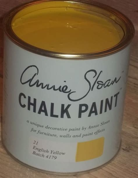 chalk paint yellow sloan krijtverf yellow 1 liter sloan