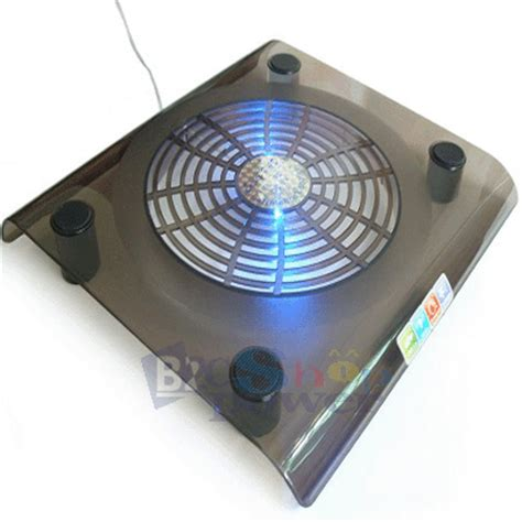 Fan Laptop Cooler big fan led laptop notebook pc cooling pad cooler pad powered by usb port low power consumption